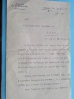 RECHTSANWALT Dr. W. ROSENTHAL Fernsprecher Dresden / Mathilde Callewaert GENT Anno 1912 ( Details See Photo ) !! - Décrets & Lois