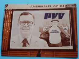 Foto´s Van Affiches POLITIEK ( PVV Frans Grootjans ............ ) Anno 1978 Antwerpen ( Details See Photo ) !! - Affiches