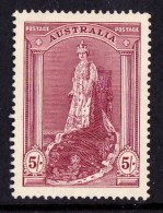 Australia 1938 Robes 5s MNH  SG 176 - 1937-52 George VI