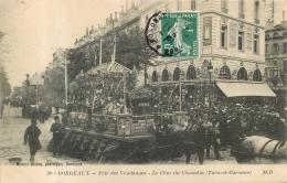 BORDEAUX FETE DES VENDANGES LE CHAR DU CHASSELAS EDITION DELBOY - Bordeaux
