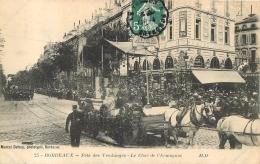 BORDEAUX FETE DES VENDANGES LE CHAR DE L'ARMAGNAC  EDITION DELBOY - Bordeaux