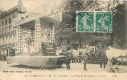 BORDEAUX FETE DES VENDANGES LE CHAR DE SAINT ANDRE DE CUBZAC  EDITION DELBOY - Bordeaux
