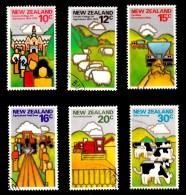 New Zealand 1978 Land Resources Set Of 6 Used - New Zealand