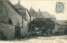 CPA - SAINT-SULPICE-DE-FAVIÈRES - FERME DE GUILLERVILLE - Saint Sulpice De Favieres