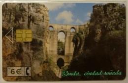 SPAIN - Chip - 6E - Rouda - CP-243 - 02/02 - 51,500ex - Mint Blister - Conmemorativas Y Publicitarias