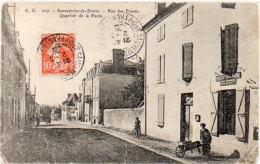 SAUVETERRE DE BEARN - Rue Des Fossés - Quartier De La Poste    (90554) - Sauveterre De Bearn