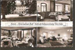 Diez. Lahn. Hotel Waldecker Hof. LANDPOSTSTEMPEL 6251 SCHAUMBURG - Diez