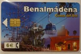 SPAIN - Chip - 6E - Benalmadena - CP-264 - 11/02 - 180,900ex - Mint Blister - Conmemorativas Y Publicitarias