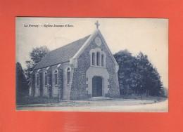 * CPA..dépt 78..LE PERRAY  :  Eglise Jeanne D' Arc  : Voir Les 2 Scans - Le Perray En Yvelines
