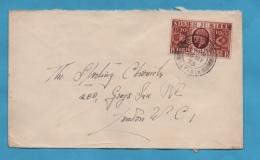 ROYAUME UNI ENVELOPPE N° 203 (YT) JUBILEE GEORGE V 1935 - 1902-1951 (Rois)