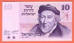 Billet  ISRAEL 10 Lirot  1973 - Pick 39 - Israel