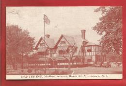 U S A - Morristown - Dante's Inn - 2 Scans - Vereinigte Staaten