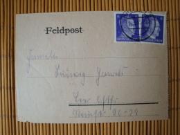 Feldpostbrief, Reichsarbeitdienst, RAD Lager 2/171, Osterholz Scharmbeck, Wremen,  Nach Leer Ostfr. 14.06.43 - Briefe U. Dokumente