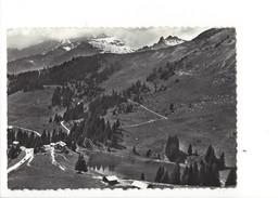 15464-  En Avion Au-dessus Du Lac Retaud Les Diablerets  (Format 10X15) - VD Vaud