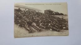 SOUVENIR DE LA GUERRE EUROPEENNE 1914 CHEZ LES ANGLAIS UN REPOS BIEN GAGNE CPA Animee Postacard - Geschiedenis