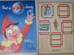 Album Collecteur Images Vignettes - Chocolat PRADO - N° 4  Tout Ce Qui Fait Un Monde - Edition Yeux Mobiles - 1957 - Chocolate