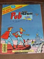Album Collecteur Images Vignettes Autocollants - Pub TF1 - Code Gratuit - 1989 1990 - Sammelbilderalben & Katalogue