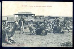 Cpa Afrique Djibouti -- Station Des Caravanes Venant De La Brousse    LIOB105 - Djibouti