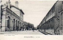 CRECY EN BRIE - La Gare  (90544) - Sonstige Gemeinden