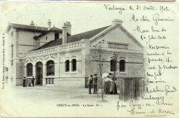 CRECY EN BRIE - La Gare  N° 1(90545) - Sonstige Gemeinden