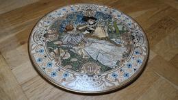 Rare LE Petit PLAT LU - Faïence Diamètre 31 Cm M.SIMAS - Lefèvre Utile - Biscuit LU - 1898 - Advertising