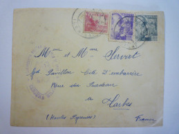 Enveloppe Au Départ Du VAL D'ARAN à Destination De TARBES  1940  -  CACHET DE CENCURE   - Marcas De Censura Nacional