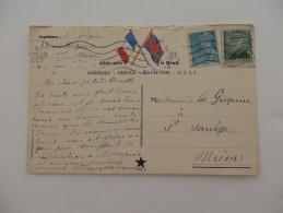 Correspondance Militaire. Mr Gilquin 33, Rue Rossini à Nice écrit à Melle Gilquin à St Saulge Dans La Nièvre Le 5/10/44 - Militaria