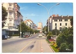 CPSM Chalon Sur Saone  Avenue De La Gare - Chalon Sur Saone