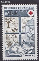 FRANCE Année  1974 N° 1829 NEUF*** - Frankreich