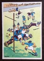 SPORT RUGBY LITTORIALI DELLO SPORT  ANNO XIII CARTOLINA DI DESETA N.V. - Rugby