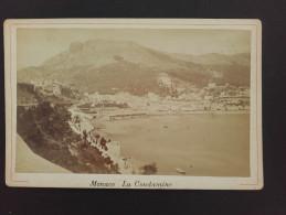 MONACO - La Condamine - Photo Sur Carton - - Lieux