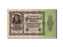 Allemagne, 50,000 Mark, 1921, KM:79, 1922-11-19, SPL - [ 3] 1918-1933 : Weimar Republic
