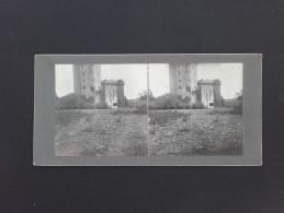 56 - ELVEN - Photo Stéréo Sur Carton - Chateau - 1903 - Stereo-Photographie