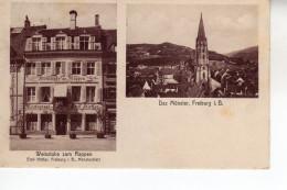 Freiburg Gelaufen 1912  Mit 3 Vignetten Marken  (  N  4881  ) - Freiburg I. Br.