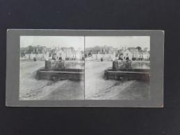 56 - AURAY - Photo Stéréo Sur Carton - 1903 - - Stereoscoop