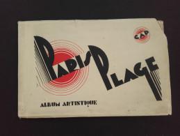 62 - PARIS-PLAGE - LE TOUQUET - Album Artistique Contenant 16 Vues - Vieux Papiers