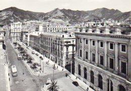 Salerno - Corso Garibaldi E Palazzo Di Giustizia - Salerno