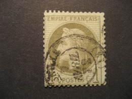 Napoleon III Yvert 25  Used Cat. 2002: 15 Eur France Stamp - 1863-1870 Napoléon III Lauré