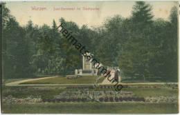 Wurzen - Juel-Denkmal Im Stadtpark - Verlag Brück & Sohn Meissen - Wurzen