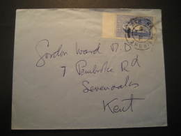Ath Na Sgairbhe 1962 To Sevenoaks Kent England Stamp On Cover Ireland Eire GB UK - 1949-... Republic Of Ireland