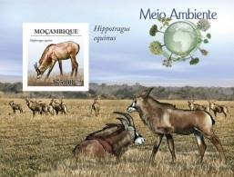 Mozambico 2010, WWF, Antilope BF IMPERFORATED - W.W.F.