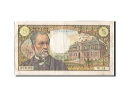 France, 5 Francs, 5 F 1966-1970 ''Pasteur'', 1967, 1967-12-07, KM:146b, TTB,... - 1962-1997 ''Francs''