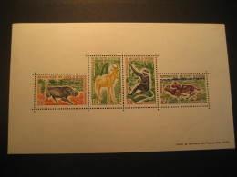 Republique De COTE D'IVOIRE Yvory Coast Yvert Block 2 Cat.: 25 Eur ** Unhinged Bouna Reserve Fauna France Colonies Area - Côte D'Ivoire (1960-...)