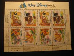 WALT DISNEY World Florida Winnie The Pooh Cancel Block CANADA - Disney
