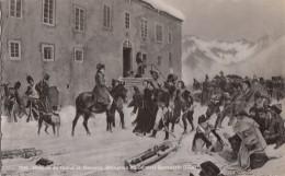 Histoire - Napoléon - Militaria - Hospice Du Grand Saint-Bernard - Cachet Hôtel - Histoire