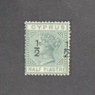 CYPRUS 1882 No.25 MH STAMP - Chypre (...-1960)
