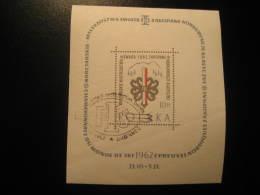 Yvert Block 31 Cat.: 6,50 Eur Cancel Zakopane 1962 FIS Ski Skiing Poland - Ski