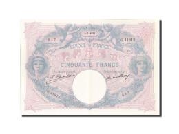France, 50 Francs, 50 F 1889-1927 ''Bleu Et Rose'', 1926, 1926-07-03, KM:64h,... - 1871-1952 Antichi Franchi Circolanti Nel XX Secolo