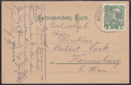 HÜTTENBERG - ASSLING (Jesenice), Railway TPO Cancellation, Picture Postcard, Mailed In 1910 - Covers & Documents