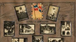 Republica Dominicana  Cartel De 13 Pequenas Fotos Propaganda Tabacalera Cubana Cuba  Bandera - Dominicaine (République)
